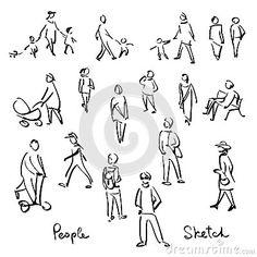 Картинки по запросу скетчи людей