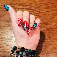 Today's nail art✨ Christmas nail #Christmasnail#Christmas#nail#nailart#nail