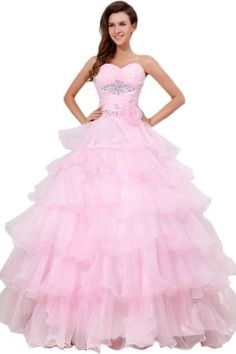 Sunvary Sweetheart Organza Ball Gown Prom Dress Quinceanera Dress Long AEL173 US Size 12- Pink Sunvary,http://www.amazon.com/dp/B00HD4F84Y/ref=cm_sw_r_pi_dp_rfsctb19RQMCV5BH