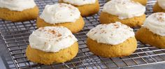Try this Pumpkin Spice Cake Cookies recipe by Chef Anna Olson. This recipe is from the show Bake With Anna. Anna Olson, Pumpkin Cookie Recipe, Pumpkin Spice Cookies, Pumpkin Recipes, Perfect Snickerdoodle Recipe, Bake Sale Treats, Cheesecake, Best Sugar Cookies, Lemon Cookies