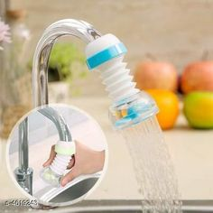 Taps & Fittings 360 Degree Water Saving Faucet Adjustable Material: Plastic  Size(L x B x H): 12 cm x 3 cm x 3 cm  Description: It Has 1 Piece Of Water Faucet Country of Origin: India Sizes Available: Free Size   Catalog Rating: ★4 (1411)  Catalog Name: Assorted Needy Water Faucets Vol 4 CatalogID_669507 C140-SC1692 Code: 971-4619243-