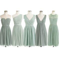 Chiffon Short Bridesmaid Dresses Pst403 on Luulla