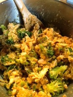 Buffalo chicken broccoli and zucchini casserole. Add sweet potatoes instead of quinoa- used this as sauce recipe for buffalo chicken lasagna recipe