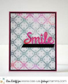 Lisa for CAS-ual Fridays Stamps featuring Tin Roof stamps and Smiling Fri-Dies…