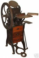 Guides: Choosing a letterpress printing press Antique Decor, Antique Furniture, Vintage Antiques, Pipe Furniture, Furniture Design, Old Tools, Vintage Tools, Printing Press, Letterpress Printing