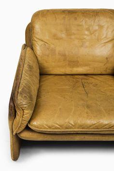 De Sede easy chairs in cognac brown leather at Studio Schalling