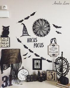 Happy Friday guys!!! Sharing a close up of my entry way table for a few Friday Hashtags that the beautiful Nichole @therusticroostco asked me to play in! I still can't get over how it turned out!! it's quite spooktaculer if you ask me! Would @dusty.rose.n.shabby.bows or @anorthernbelle care to share for any of these!? #fridayfallfavorites #myfabfindfriday #weekendwithtextures #fallfarmhousefridays #talkwordytomedecor & #frightfullyfunfriday #wickedweekenddecor . . . #halloween #halloweend...