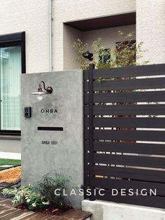 Signage Light, Garden Entrance, Exterior, Landscape, Bathroom, Classic, House, Design, Decor