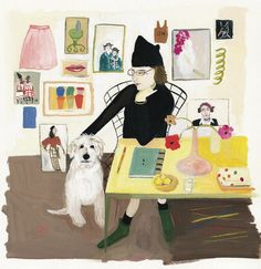 What Else Can I Say?  Maira Kalman: I love you.  You make me want to draw and write, to go out in the world and see it with fresh eyes, and maybe even wear a hat.