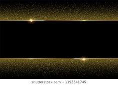 Golden glitter and shiny golden frame on black background. Framed Wallpaper, Phone Screen Wallpaper, Glitter Wallpaper, Black Wallpaper, Backgrounds Free, Black Backgrounds, Download Adobe Photoshop, Golden Decor, Light Skin Girls