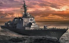 Pearl Harbour Attack, Uss North Carolina, Navy Coast Guard, Ship Paintings, Military Pictures, United States Navy, Navy Ships, Modern Warfare, Ship Art