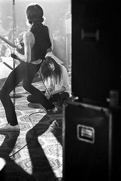 """""""Patti Smith, Austin Opera House, 1978. I had seen lots of rock star types strut about the stage for years, but I had never seen, up to then..."""