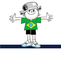 Independência,  Menino Maluquinho, Ilustração de Ziraldo.