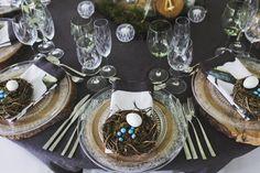 Botanical Olive Farm Wedding by Justin Davis Farm Wedding, Table Decorations, Bride, Stone, Wedding Bride, Rock, Bridal, Stones, Batu