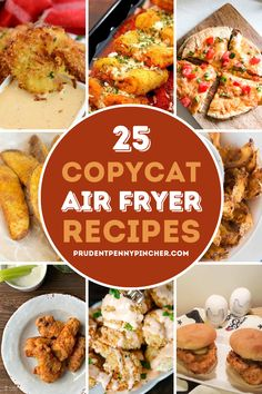 Air Fryer Oven Recipes, Air Frier Recipes, Air Fryer Dinner Recipes, Shrimp Side Dish, Cooks Air Fryer, Copykat Recipes, Restaurant Recipes, Food Cravings, Cooker Recipes