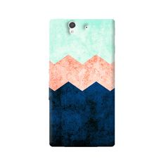 Triple Chevron Sony Xperia Z Case from Cyankart