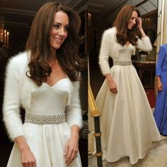Kate Middleton: nuovo look Alexander McQueen per il ricevimento
