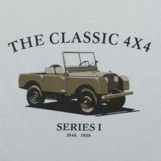 R$29.90  T-shirt - Camiseta The Classic 4x4  Algodão orgânico (organic cotton)