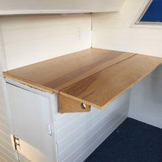 Finished drop leaf desk