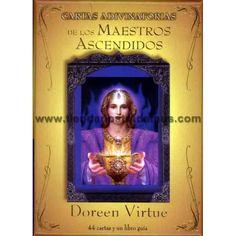 Cartas adivinatorias de los Maestros Ascendidos, de la famosa Doreen Virtue. Unas cartas de autoayuda