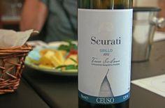 We sample Ceuso new white Grillo. #Sicily #wine