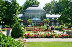 June 2014: The Palm Garden, Frankfurt