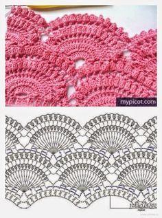 Pin by on garter shawls pinterest crochet chart patrones de bellsima falda crochet crochet y dos agujas ccuart Images