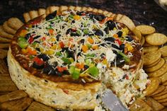 Have A Big Story To Tell Mexican Cheesecake. Great appetizer for a big crowd. Recipe from a friend.I Have A Big Story To Tell Mexican Cheesecake. Great appetizer for a big crowd. Recipe from a friend. Appetizers For A Crowd, Finger Food Appetizers, Appetizer Dips, Yummy Appetizers, Finger Foods, Appetizer Recipes, Dips Food, Party Appetizers, Mexican Appetizers