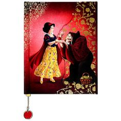 Disney Fairytale Designer Collection Snow White and Evil Queen as Hag... ($25) ❤ liked on Polyvore featuring home, home decor and stationery