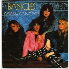 The Bangles - Walk Like an Egyptian #80s