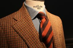 """The very definition of """"burly tweed."""" Salvatore Piccolo AW13"""
