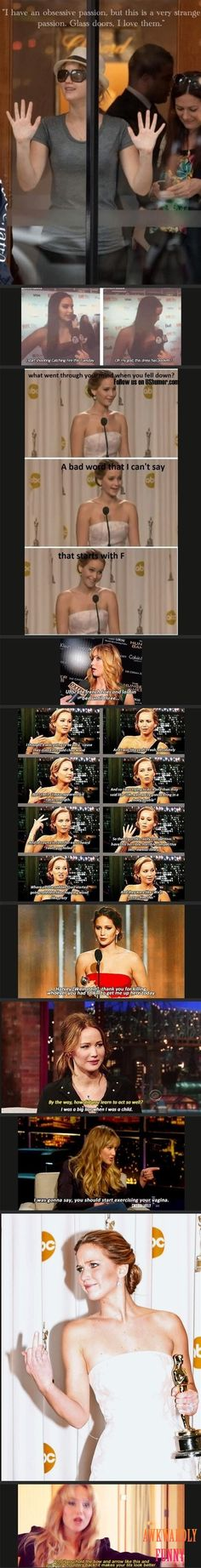 Funny picture: Oh Jennifer Lawrence�?�