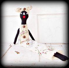 Primitive Folk Art Black Mammy Raggedy by FosterChildWhimsy