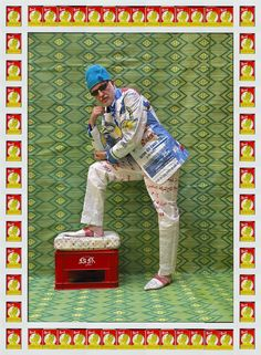 hassan hajjaj - These Portraits Of Moroccan Hipsters Are More Nuanced Than They Look - The Huffington Post Hipsters, Pop Art, Hybrid Art, Portrait Photography, Fashion Photography, Western Suits, David Lachapelle, Claes Oldenburg, Jasper Johns