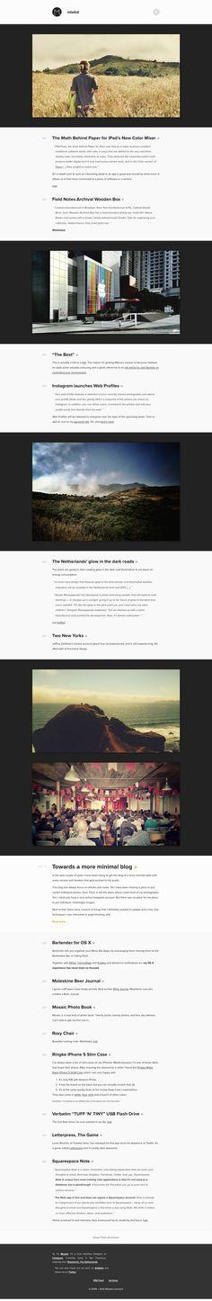 miekd - Maykel Loomans' website