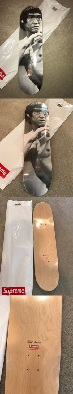 Mixed Items and Lots 10970: Brand New Supreme 13 Aw Bruce Lee Skateboard Skate Board Deck Gray Skateboard Sb -> BUY IT NOW ONLY: $250 on eBay!