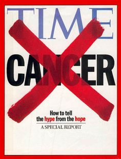 1998 TIME Magazine Cover: Cancer -- May 18, 1998
