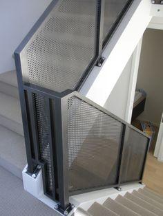 Mesh Aluminum Interior Railing | by avilionmetalcraft