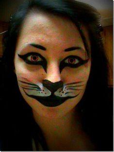 Resultado de imagen para maquillaje de tigresa