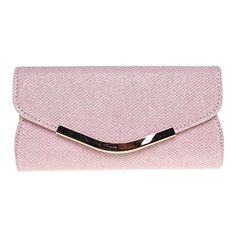 New Trending Purses: Fashion Road Evening Clutch, Womens Mini Glitter Clutch Purses For Wedding  Party Pink. Fashion Road Evening Clutch, Womens Mini Glitter Clutch Purses For Wedding  Party Pink   Special Offer: $10.38      477 Reviews Features: Material: PU Size: 7.1*1.2*3.7 inch Color: Gold/Pink Package: A Evening Clutch Design  Occasion This glitter evening purse makes you a...
