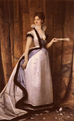 Portrait of a Woman by unknown artist, 1870's