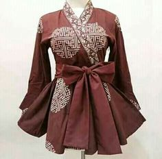 Image gallery – Page 350084571019995746 – Artofit Model Dress Batik, Batik Dress, Kimono Blouse, Batik Kebaya, Kebaya Dress, Batik Fashion, Hijab Fashion, Fashion Outfits, African Fashion Dresses