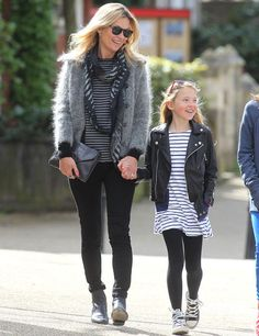 Mummy matching by the master #katemoss