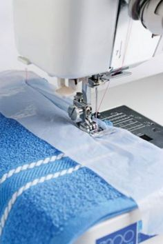 Tame Bulky Fabrics A good way to make your sewing easier is to use plastic bags. Those bags that you typically get from the grocery store make wonderful resources when you're sewing thick materials. They help to guide the material smoothly through the machine and prevent it from getting stuck.