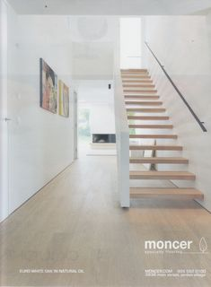 Most Popular Ways To House Stairs Ideas Staircases Stairways 85 Timber Staircase, Stair Handrail, Modern Staircase, Staircase Design, Handrail Ideas, Narrow Staircase, Staircase Ideas, Open Stairs, Entry Stairs