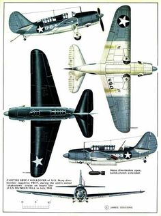 Curtiss SB2C-1 Helldiver ' carrier-based dive bomber aircraft US Navy ,1943 Illustration Avion, Avion Planes, Ww2 Aircraft, Military Aircraft, Air Fighter, Fighter Jets, Aircraft Painting, Vintage Airplanes, Ww2 Planes