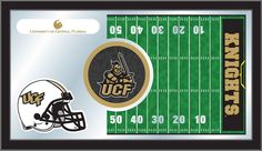 The UCF Knights Football Mirror Fan Cave Decor - University of Central Florida