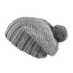 2x2 rib and seed stitch · Fur pom pom hatSlouchy ... quality design a2f63  ... 66e72691ca5