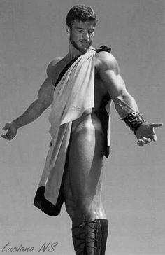warrior, gay boy, muscl, rick wolfmier, vintag men, vintag beauti, vintag weightlift