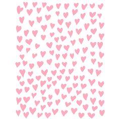 Wonky Hearts Background Love Wedding 8.5x11 Cut File .SVG .DXF